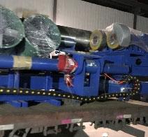 华泽内肋管生产线厂家与与客户合作,发货中