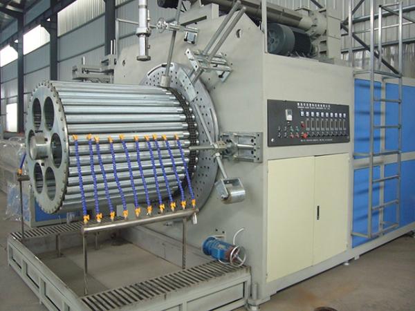 波纹管生产线管材生产质量保证方法